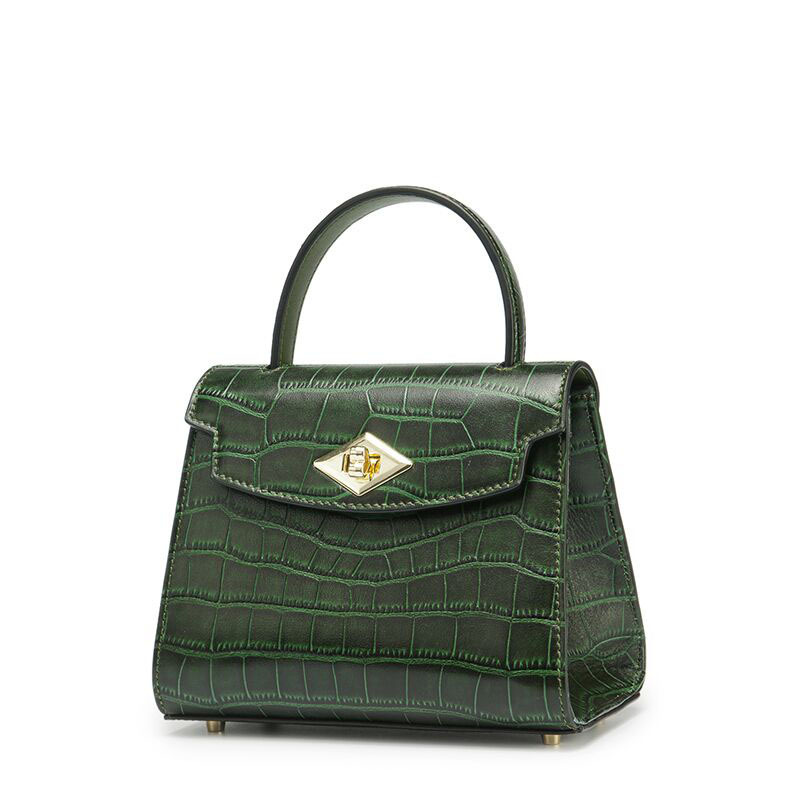 Crocodile leather bags leather new style Kylie bag portable shoulder diagonal one generation
