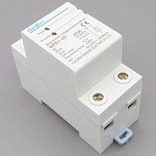 VPD1-60 230V Din rail automatic recovery reconnect over voltage and under voltage protective device protector protection relay