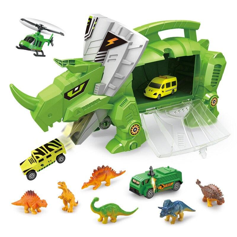 Definition Weihnachten.Nette Lustige Spielzeug Dinosaurier Transporter Hohe Definition Lagerung Box Auto Kinder Tragbare Container Lkw Spielzeug Weihnachten Der Tag Geschenk