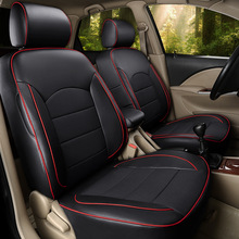 new automotive customize car seat covers pu leather top quality special for Cadillac CTS CT6 SRX DeVille Escalade SLS ATS-L/XTS цена и фото