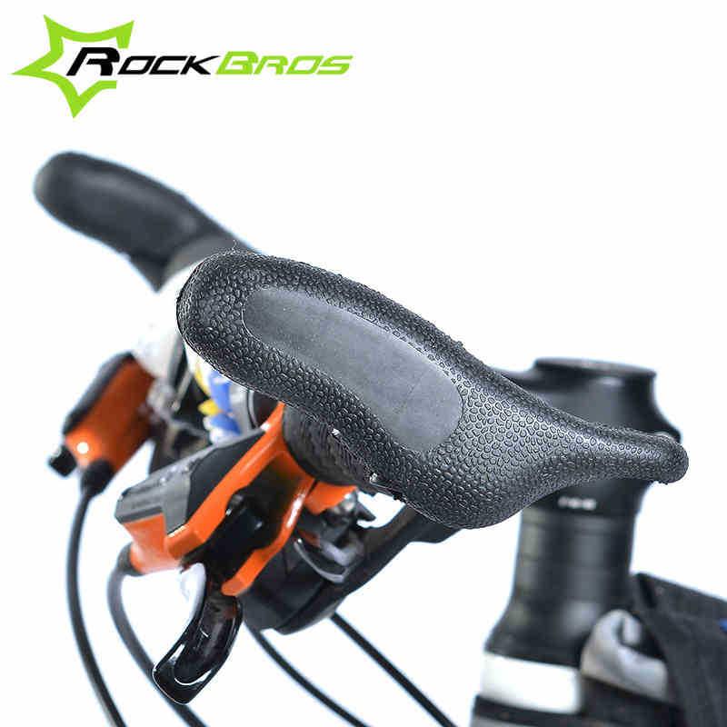 rockbros rubber bicycle handlebar ends mtb mountain bike bar ends