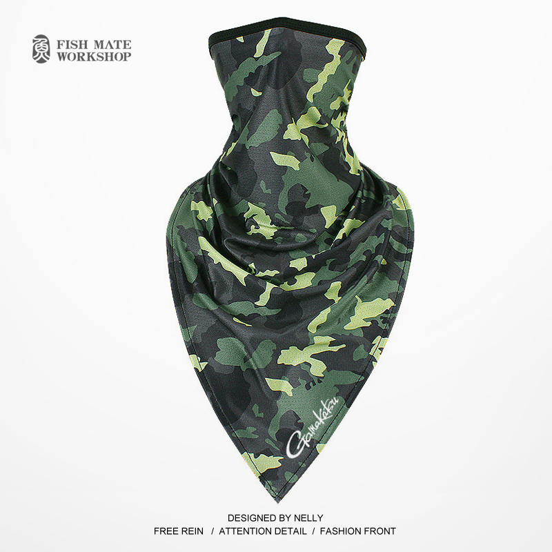 Image 3 - 2019 Gamakatsu Fishing scarf ice silk magic headscarf summer sunscreen collar men and women outdoor riding scarf-in Fishing Caps from Sports & Entertainment
