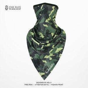 Image 3 - 2019 Gamakatsu szalik wędkarski ice silk magiczna chustka na głowę lato ochrony przeciwsłonecznej kołnierz mężczyźni i kobiety jazda na zewnątrz szalik