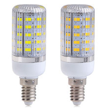 New Arrival E14 LED Lamp 10W 48SMD 5730 5630 Light LED Corn Lamp Bulb Warm White Cold White LED Light For Home Decoration HR(China)
