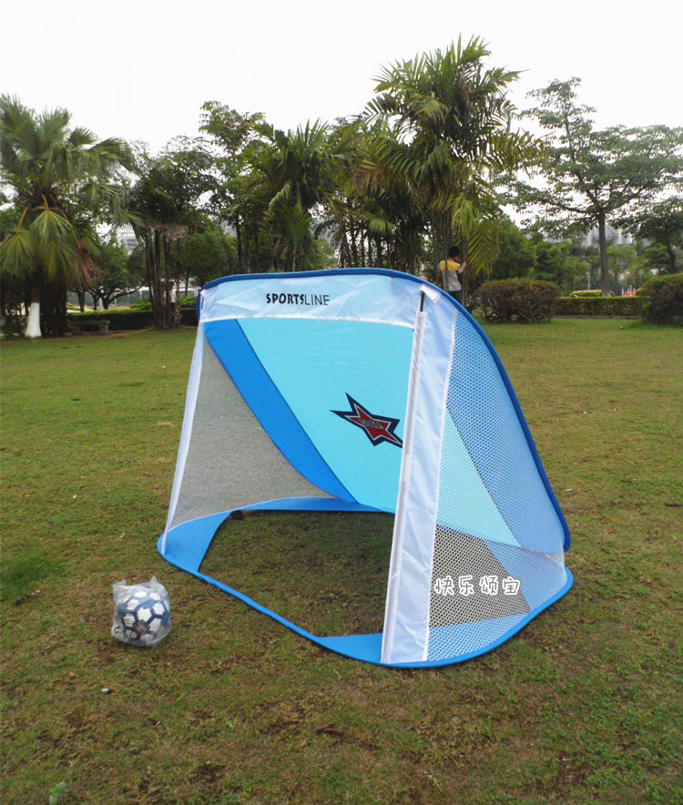 Football portable folding door Indoor and outdoor sporting goods baby Football gate grid Childrens tent toys tent for children