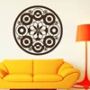 Modern Design Mandalas Flower Circles Wall Decals For Living Room Vinyl Wall Stickers Home Decor Removable
