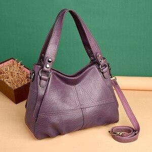 Image 5 - 2019 Sheepskin Leather Ladies Handbags Female Messenger Bags Designer Crossbody Bags for Women Tote Shoulder Bag for Girls Bolsa
