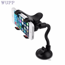 Auto CellPhone for iPhone 360Rotating Universal Car Windshield Mount Stand Holder Support JAN17