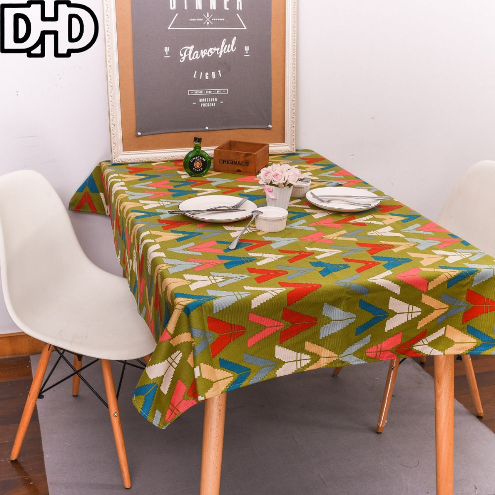 popular modern table clothbuy cheap modern table cloth lots from  - green tablecloth geometric manteles nappe rectangulaire modern table clothrectangular pure cotton thick table covers(