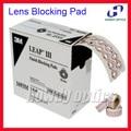 3M 1000pcs/roll 18mm 18x27mm Quality lens blocking pad edging adhesive optical accessories Finish Blocking Pads