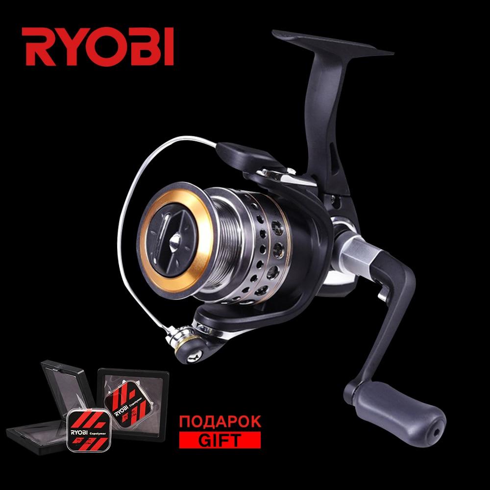 RYOBI OASYS 1000/2000/3000/4000 100% Original Aluminium Reel Big Fish 5.1:1 Drag 5kg 5BB Saltwater Cheap Spinning Fishing Reels ryobi appaluse 2000