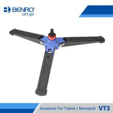 Benro VT3 3-Leg Locking Base Accessory For Monopod Fits Monopod with Removeable Supporting Stand 3/8 Threaded Foot Free Shipping