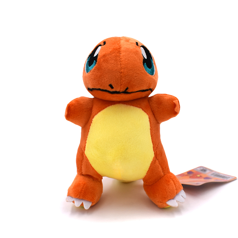New 18cm Standing Charmander Official Plush Dolls Plush Stuffed Toy Anime Toys Gift For Children Free Shipping