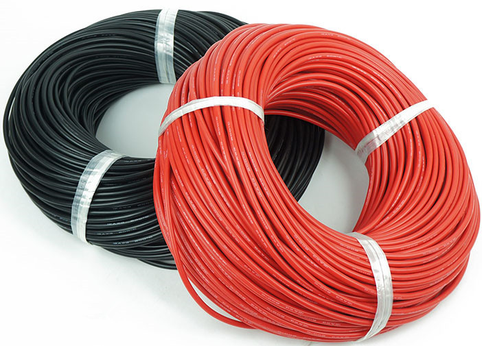 5meter Red 5meter Black Silicon Wire 10AWG Heatproof Soft Silicone Silica Gel Wire Cable