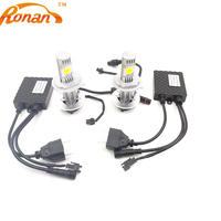 Free Shipping CREE 3600lm 50w H4 Hi Lo LED Car Headlight White 6000K High Low Beam