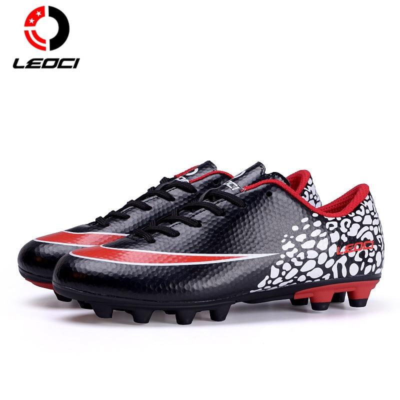 791078e0a97 LEOCI Football Boots Cleats Soccer Shoes Mens Football Cleats Boot  Chuteiras Botas De Futbol Voetbal Schoenen