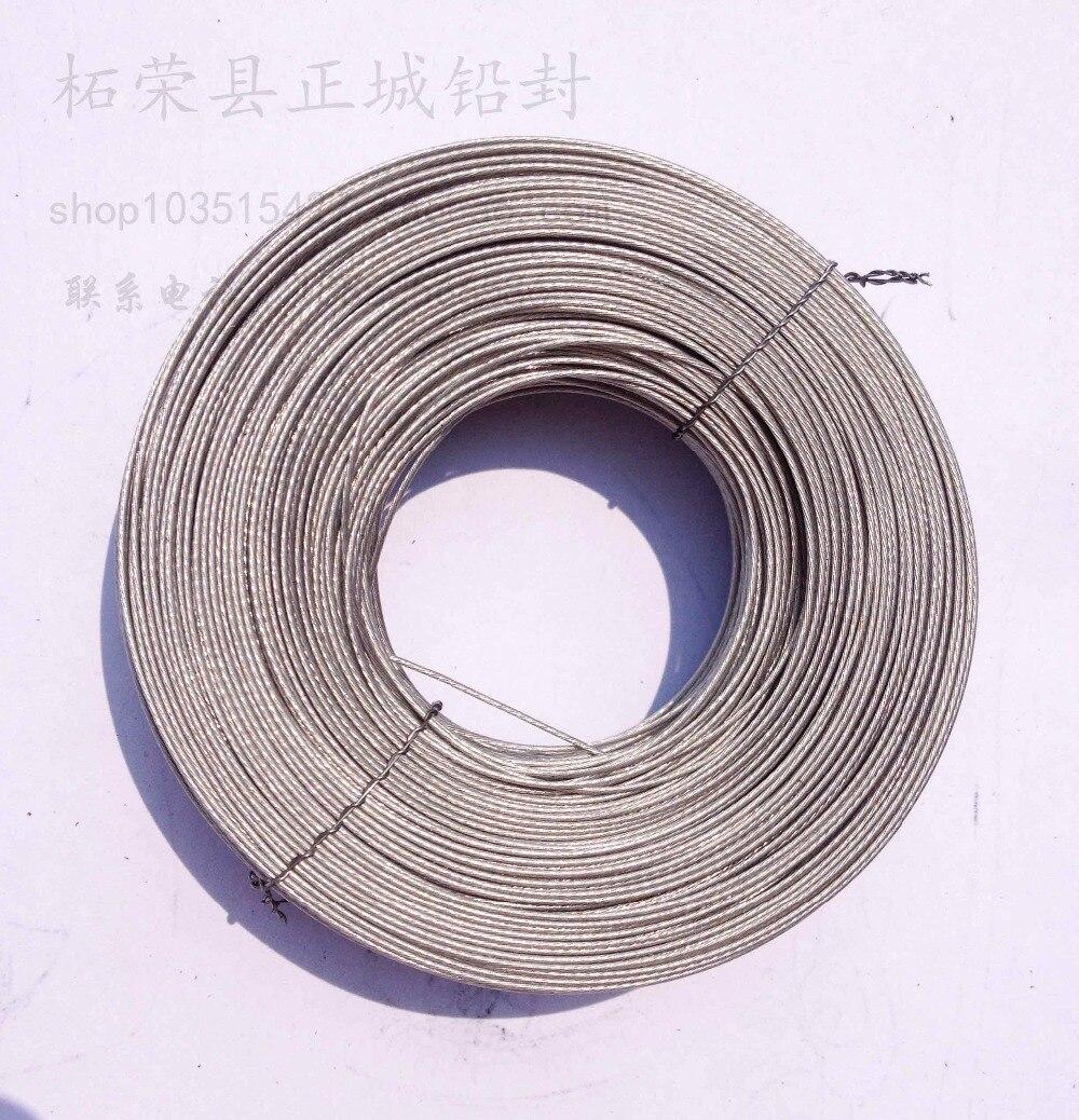 7 strang gummi isolierte drahtdurchmesser von 0,6mm 60 mt pro spule ...