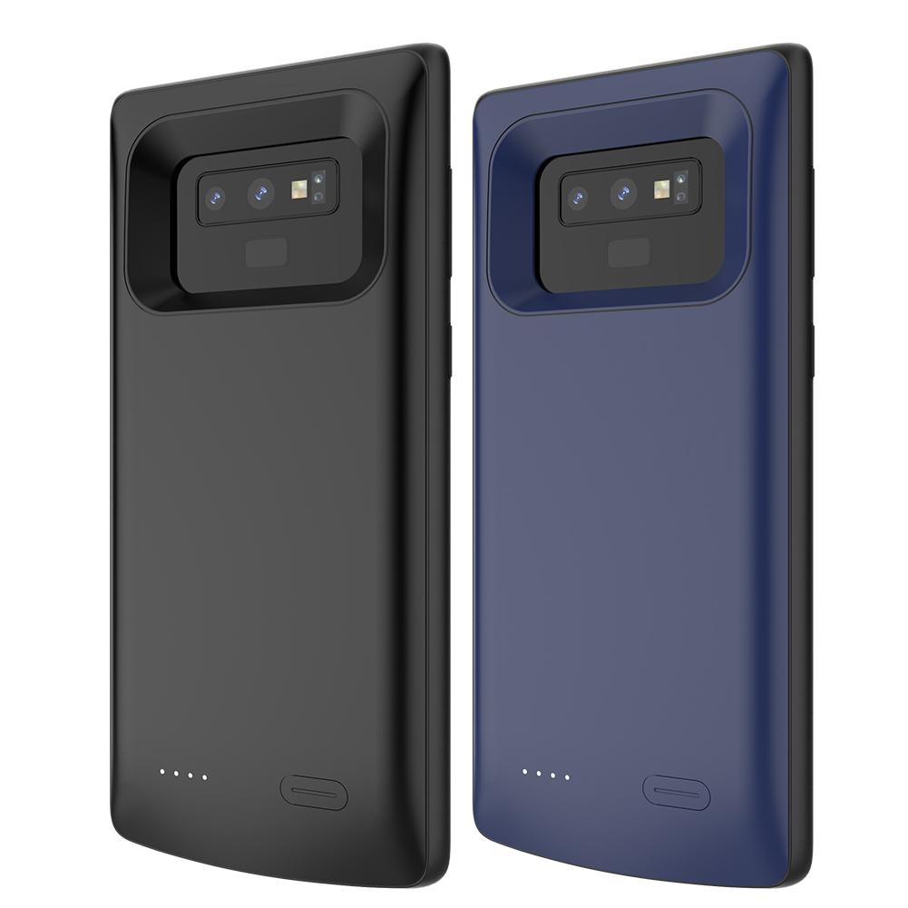 Best New For Samsung Galaxy Note 9 5000mAh External Power Bank Charger Battery Phone Case Support Bracket Car Holder