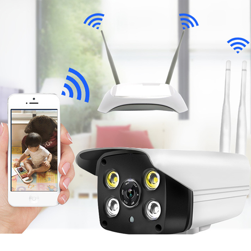 1080P HD Wireless IP Video Camera With Waterproof Night Vision Mobile Phone To Watch Wireless Intelligent Surveillance Camera1080P HD Wireless IP Video Camera With Waterproof Night Vision Mobile Phone To Watch Wireless Intelligent Surveillance Camera