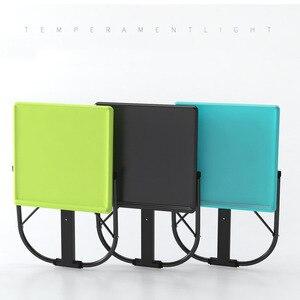 Image 5 - Đơn Giản thời trang Xách Tay Đứng Bàn Máy Tính Giường Học Tập Để Bàn Nâng Gấp Laptop Di Động Bàn Đầu Giường Sofa Giường Bàn