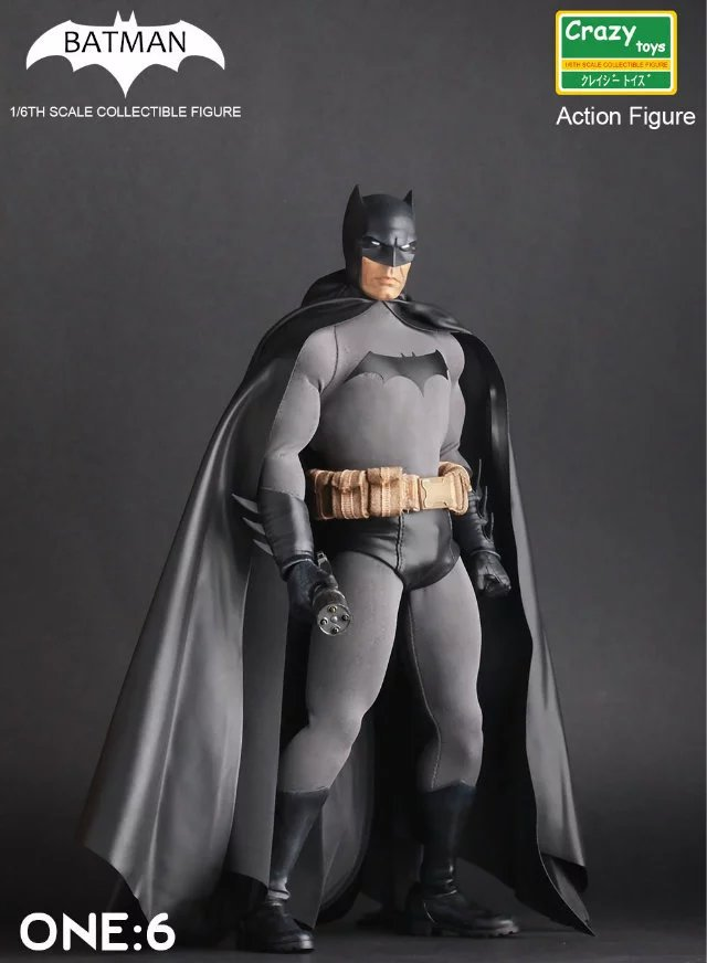 30cm Batman Crazy Toys Action Figure Collectible Model Toy 12″ 30cm