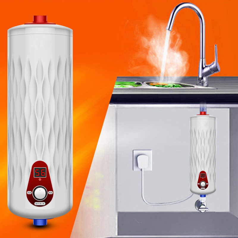 Instant electric water heater 220v 6000w kitchen and bath for 1 bathroom tankless water heater