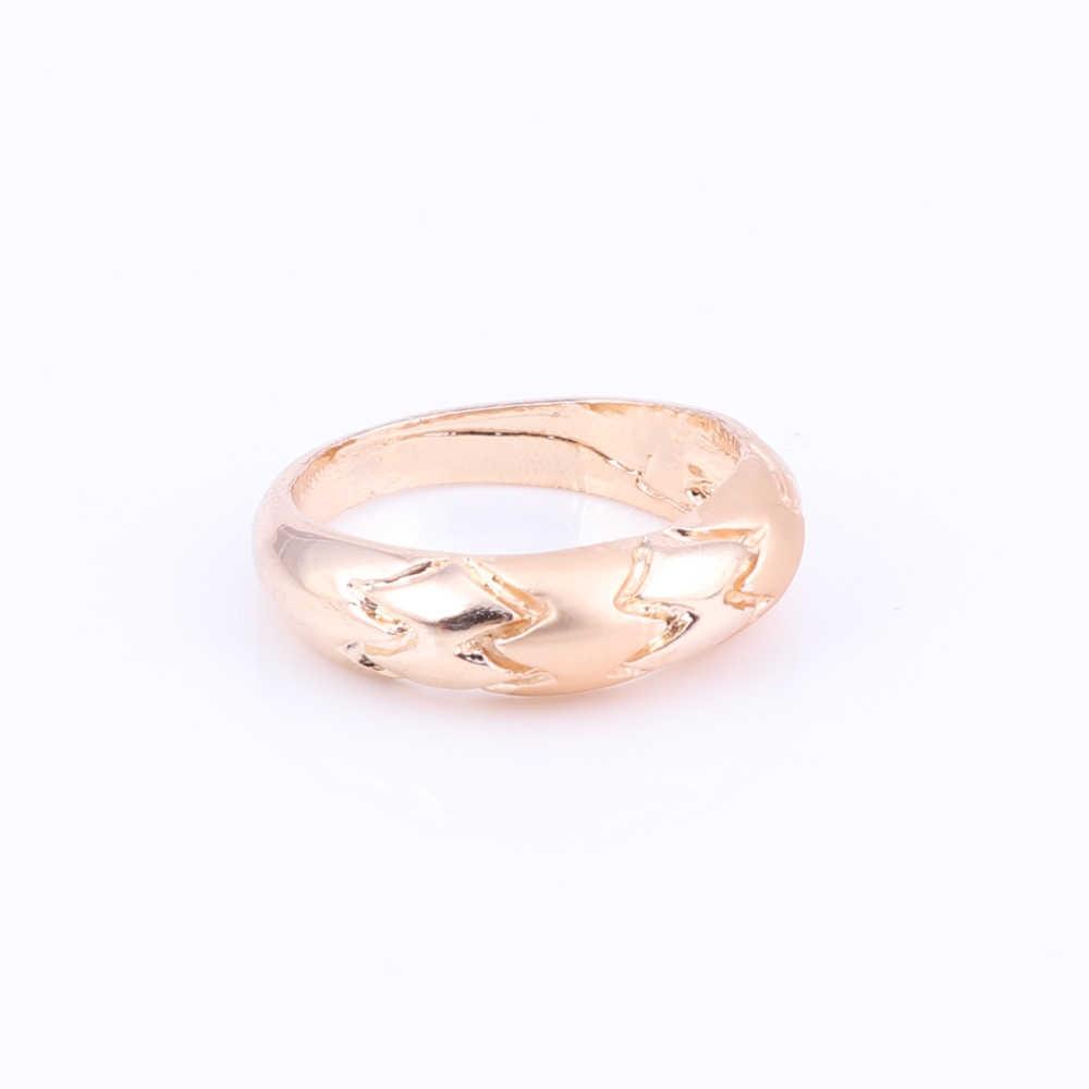 Золото Цвет комплекты украшений для женщин свадебные Дубай, Африканский стиль бусины комплект ювелирных изделий Цепочки и ожерелья серьги, браслет, кольцо ювелирные изделия