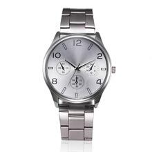 9s & cheap Hot Fashion luxury Man Women Crystal Stainless Steel Analog Quartz Wrist Watch  High Quality Watch #330717