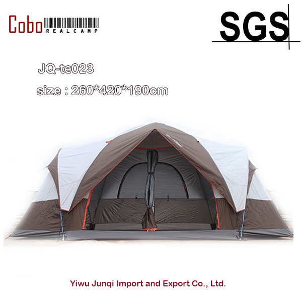 Large Family Camping Tent Sun Shelter Gazebo Beach Tent For with separated rooms & big space ideal for family & social gathering alltel high quality double layer ultralarge 4 8person family party gardon beach camping tent gazebo sun shelter