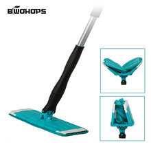Rotating Mop 360 Spin Twist Water Spray Floor Cleaning Easy Bucket Dust Magic Microfiber Electric Broom