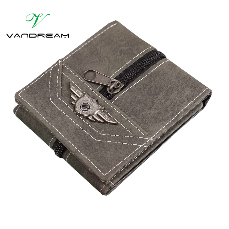 Canvas Men Wallets With Coin Zipper Short Money Bag Pocket For Credit Card Boys Student 3 Fold purse 2017 old school army green denim small mens wallet canvas men wallets leather male purse card holder coin pocket cloth zipper money bag cartera hombre