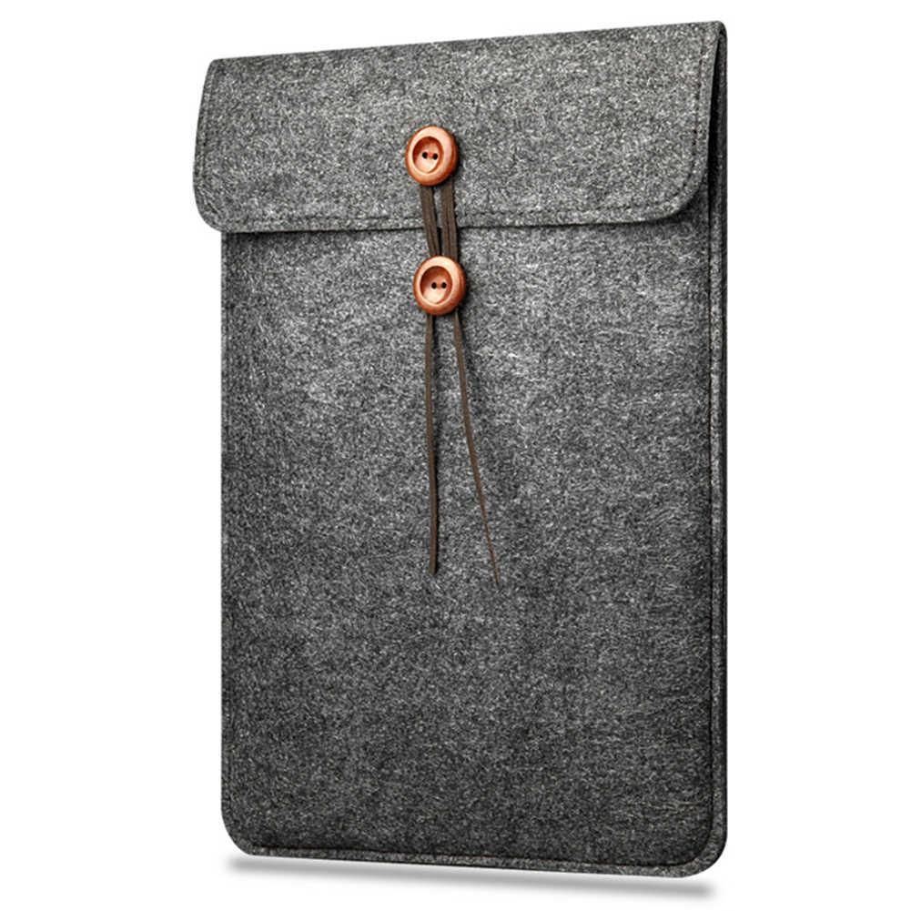 Шерсть войлочное покрывало 11/12/13/15 дюймов Защитная сумка для ноутбука/рукав для Apple Macbook Air Pro ноутбук Retina крышка