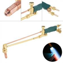Copper Shot Suction Torch Gas Welding Gun with Full Purple Copper Cutting Nozzle Support Oxygen Acetylene Propane for Heating