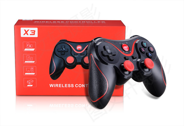GEN GAME X3 Wireless Bluetooth Controller Gamepads Dual Classic Joystick for iOS Android Gamepad Windows PC TV Box