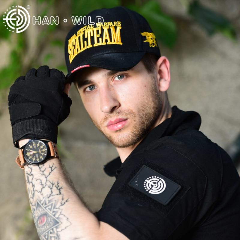 New Fashion Brand Asli Baru Hot US Army Baseball Caps Navy SEGEL Pria - Aksesori pakaian - Foto 4
