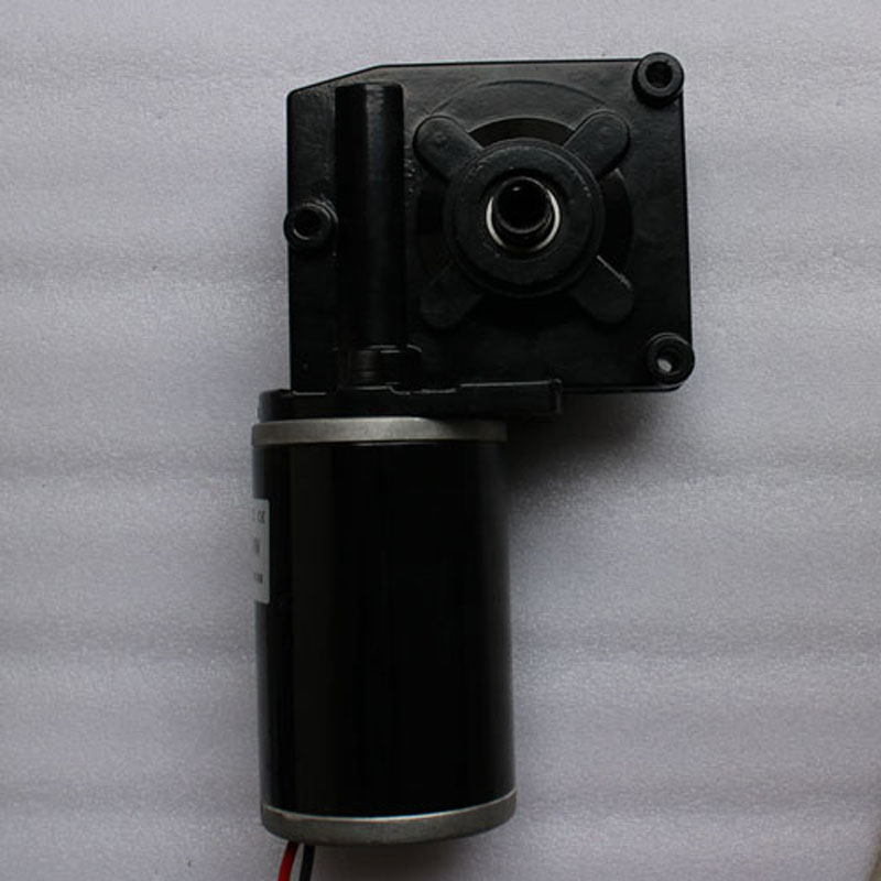 12V DC MOTOR worm gear permanent magnet high torque 7712ZY 150W 25:1 For electric golf trolley electric tool