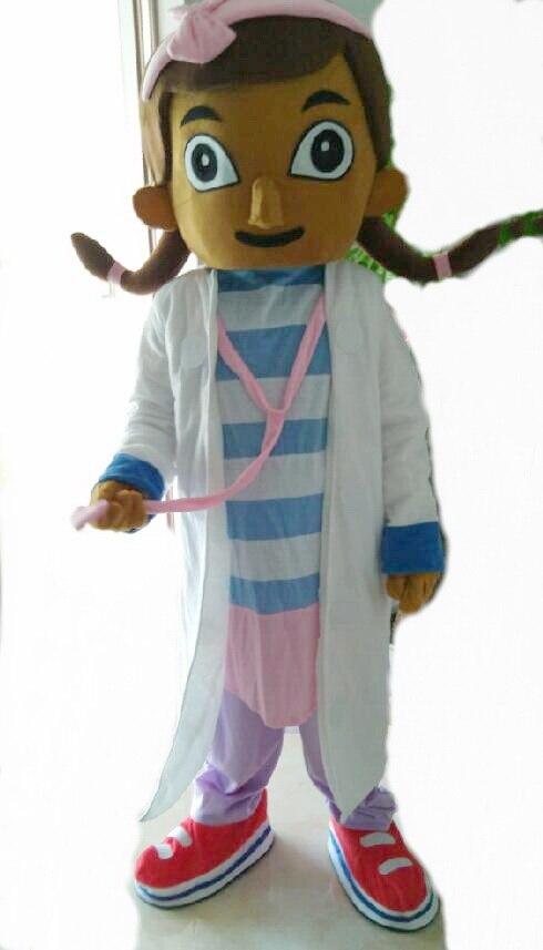Doc McStuffins mascot costume McStuffins adult mascot costume Doc McStuffins mascot costume fast shipping