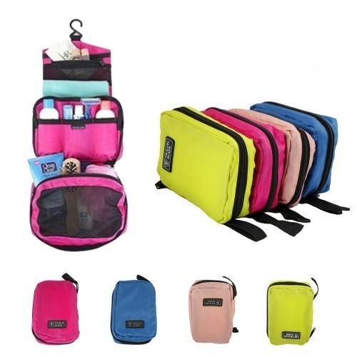 ae7e98374b9b Portable travel women cosmetic bag purse organizer womens beautician make  up purse bags makeup bag hanging toiletry bag