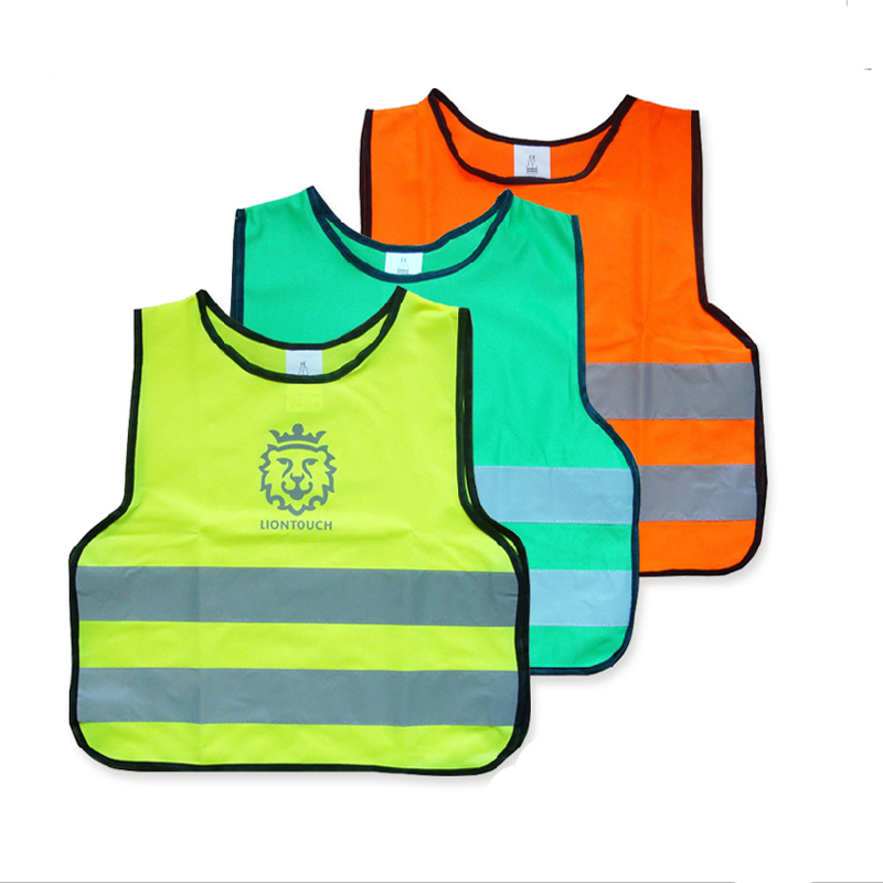 Children High Visibility Pupil Child Student Kid Reflective Traffic Vest Scooter Cycling Safety Vest Jacket kid s box level 2 pupil s book