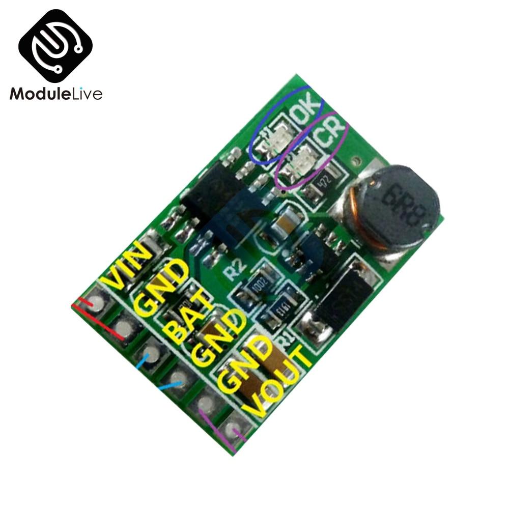 Elektrische Ausrüstungen & Supplies Romantisch 12 V 2in1 Lithium-batterie Ladegerät Boost Entlader Bord Dc-dc Converter Step Up Modul 3,7 V 5 V Zu 12vdc Für Ip Ptz Kamera Ups