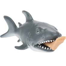 Soft Anti Stress Antistress Squishy Anti-Stress Squishi 12cm Funny Toy Shark Squeeze Stress Decompression Toys Squeeze Toy cellcosmet anti stress mask