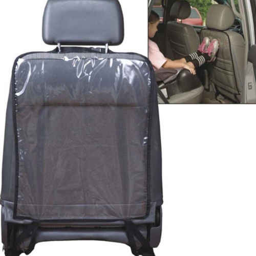 Чехол на заднее сиденье автомобиля, защита от ударов, защита для стула, анти-ступенчатый грязный чехол на заднее сиденье автомобиля для детей, черный и синий цвета