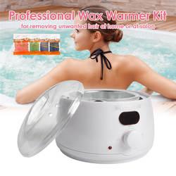 Воск утепленный комплект инструмент для удаления волос воск нагревательный аппарат с воском бобы и восковой аппликатор палочки удаление