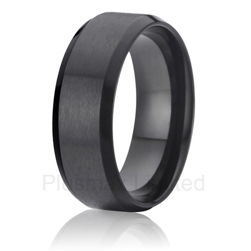 Titanium jewelry affordable prices custom black mens wedding band finger rings anel feminino cheap pure titanium jewelry wholesale a lot of new design cheap pure titanium wedding band rings