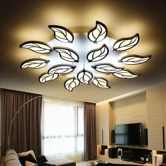 Moderne Blatt Design Führte Deckenleuchten Für Schlafzimmer Wohnzimmer  Flushmount Beleuchtung Plafondlamp Luminarias Leuchten Moderne Lampen