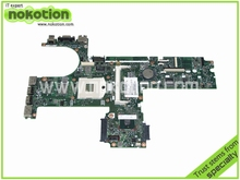 Laptop Motherboard for HP Probook 6450B 6550B 613293-001 Mainboard HM57 GMA HD DDR3 Mother boards Full Tested