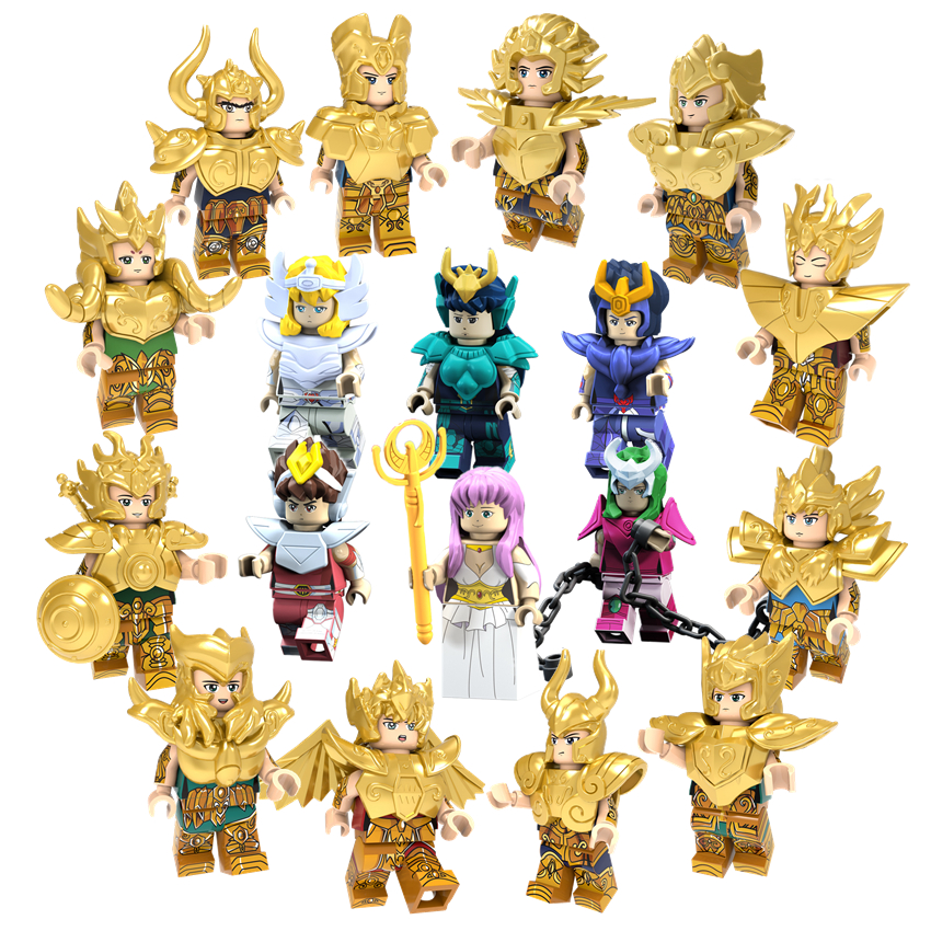 Saint seiya display deco for showcase knights of the zodiac collector sign gift