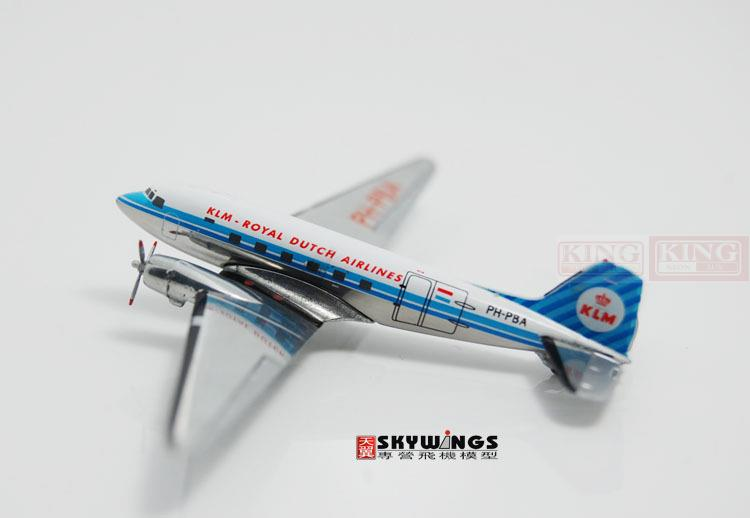 GJKLM979 GeminiJets Holland Royal Air PH-PBA (C-47) 1:400 DC-3 commercial jetliners plane model hobby special offer wings dragon 56277 air force kc 135d air refueling aircraft 1 400 commercial jetliners plane model hobby