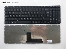 UK keyboard For Toshiba Satellite L50-B L55-B L55DT-B S50-B S55-B L50-C SERIES black Laptop Keyboard Layout