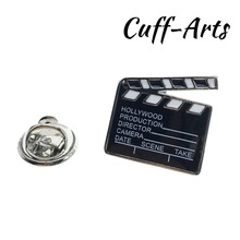 Cuffarts Lapel Pin For Men Hollywood Film Clapperboard Pride Brooch Hijab Pins Enamel Broche Pusheen P10059